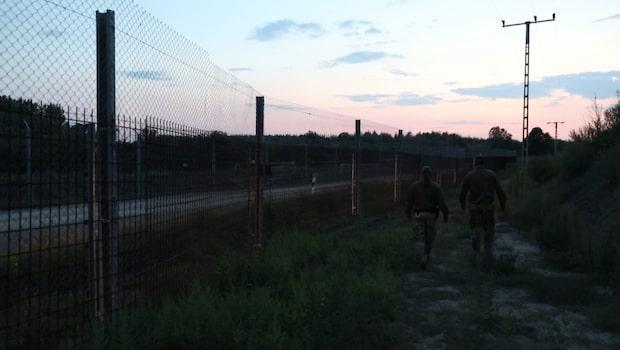 Här går Europas nya järnridå