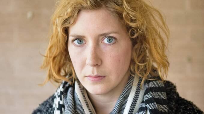 Amanda Svensson är författare och skribent på Expressens kultursida. Foto: LUDVIG THUNMAN