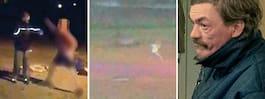 Bilderna visar misstänkta pojkarnas våld mot Gica