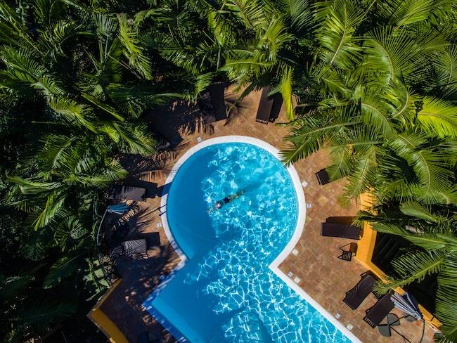 På Hotel Rural Hacienda del Buen Suceso på Gran Canaria bor du på ett bananplantage.