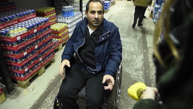 Ali sköts av rånarna – nu vill han hjälpa polisen