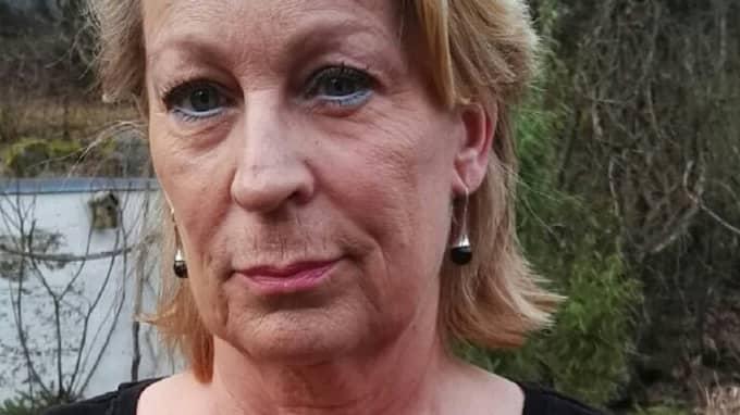 Annika Strandell i Halmstad, född 1954, kommer trots att hon har jobbat i hela livet att hamna under EU:s fattiggräns. Foto: Privat