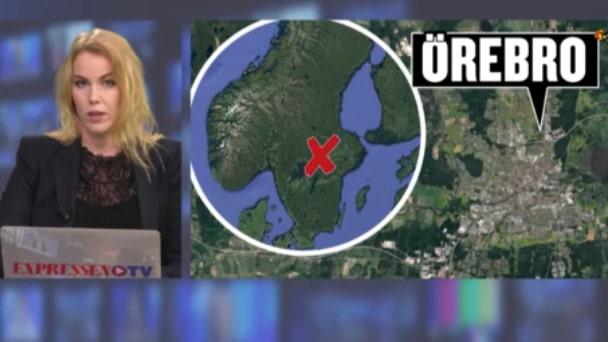 Person hittad död i Örebro