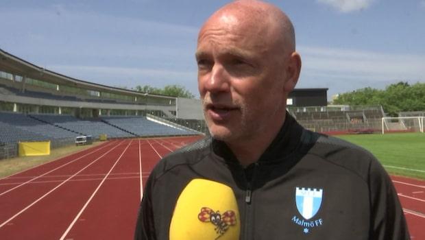 """Uwe Rösler efter första träningen med MFF: """"Här finns mycket kvalitet"""""""