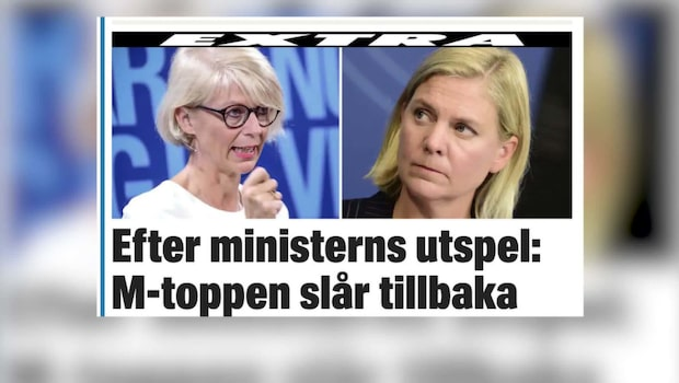 Efter finansministerns utspel – Svantesson slår tillbaka