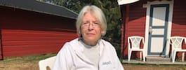Catrin, 53, evakuerades från fritidshuset