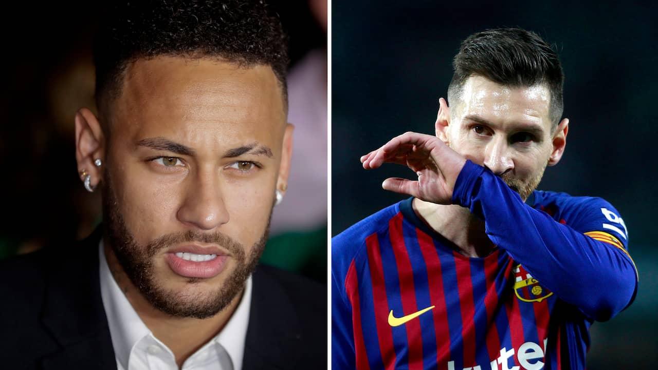 Neymar kan ha blåsts – för att göra Messi glad