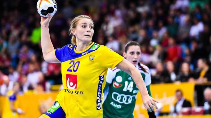 Isabelle Gulldén. Foto: CARL SANDIN / IMAGO/BILDBYRAN IMAGO SPORTFOTODIENST
