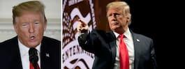 Trumps fixade bilder – får  honom att se yngre ut