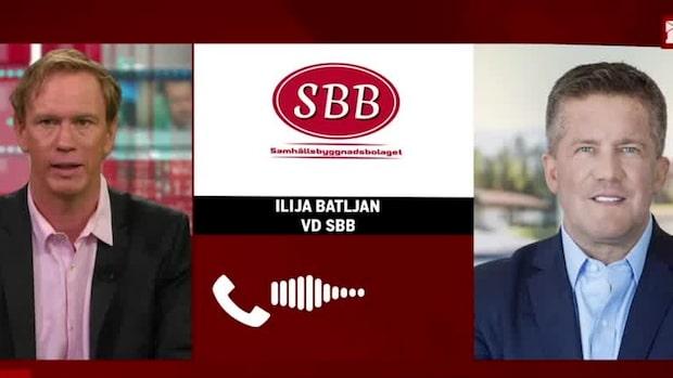 """SBB:s vd """"Vi vill stödja hyresgäster under Q3"""""""