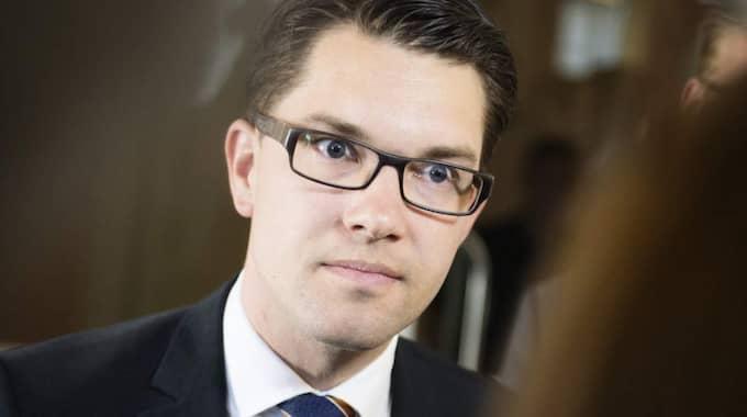Jimmie Åkesson får 21 270 kronor från Försäkringskassan – plus 31 500 kronor från riksdagen. Foto: Anna-Karin Nilsson