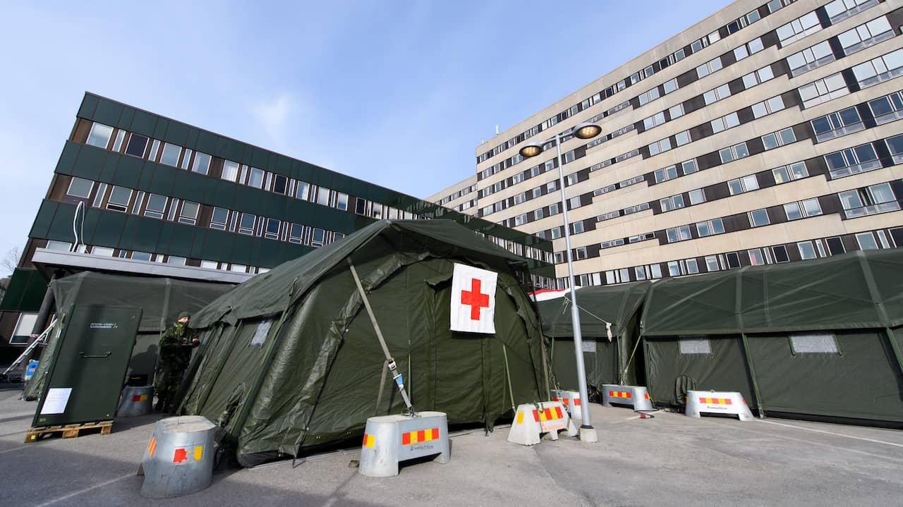 Nu stängs fältsjukhuset vid Östra ner