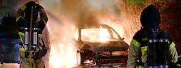 Taxiföretag besköts i natt  – dygnet efter två bilbränder