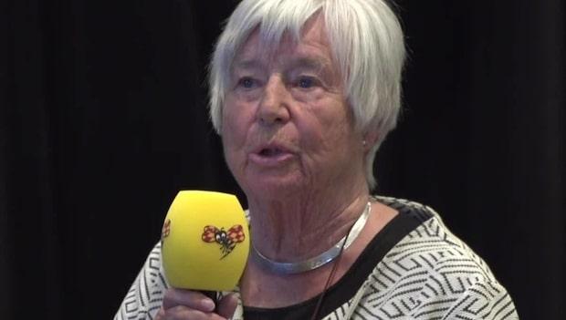 Sigbrit Normark, 85, tycker inte att äldre får lika bra vård som andra