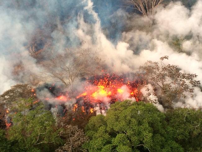 Vulkanutbrottet på Hawaii bröt ut den 3 maj.