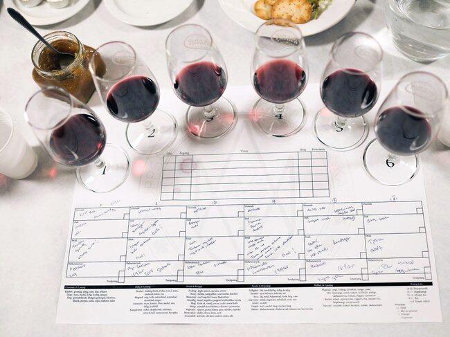 Tveka inte vid vinprovningen. Lär dig mer genom att prova doft- och smakspråket.