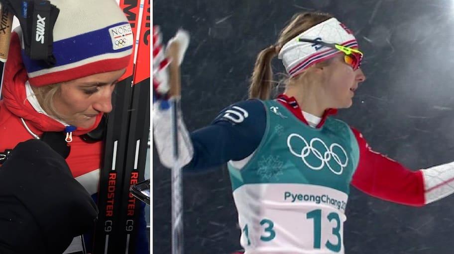 OS 2018: Norska stjärnan i tårar efter fiaskot i OS-sprinten