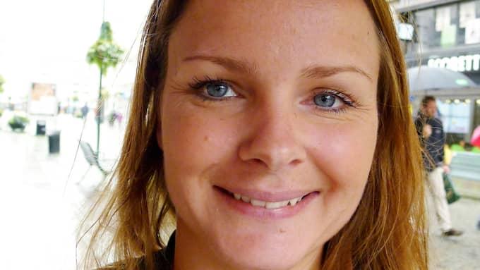 Sandra Hälldahl. Foto: NICLAS TILOSIUS / KVP