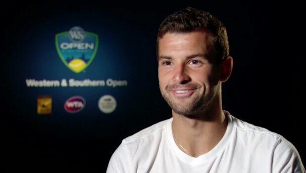Tennisstjärnan ställd av frågan efter segern