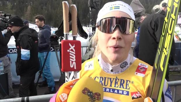 """Sundling föll i finalen: """"Riktigt surt"""""""