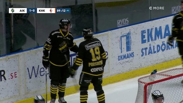Seger för AIK i sista omgången
