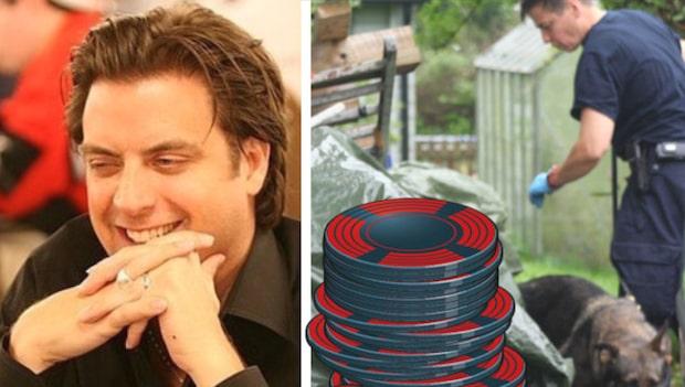Pokermiljonären hittades mördad – bredvid sin son