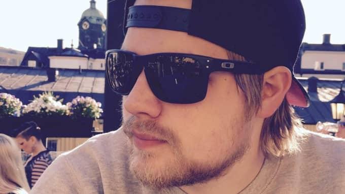 Robie Sjögren i Norrköping säger att ljusfenomenet var det sjukaste han sett. Foto: Privat