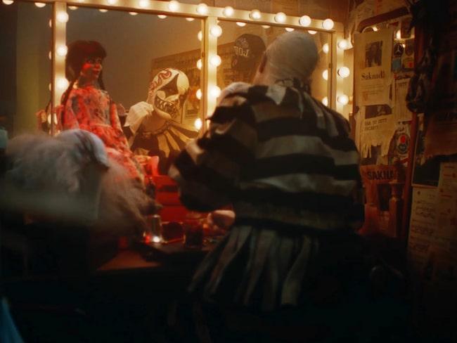 Lisebergs nya reklamfilm inför halloween har stoppats av Youtube.