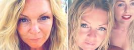 Alla tror att de är systrar – Louise avslöjar sin ålder
