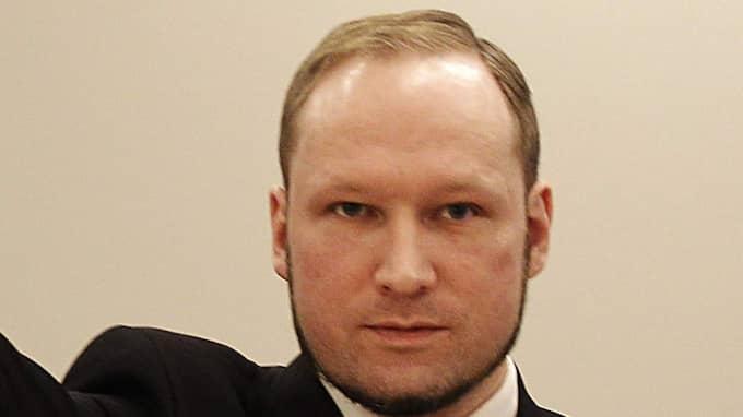 Anders Breivik, terrorist. Foto: Frank Augstein