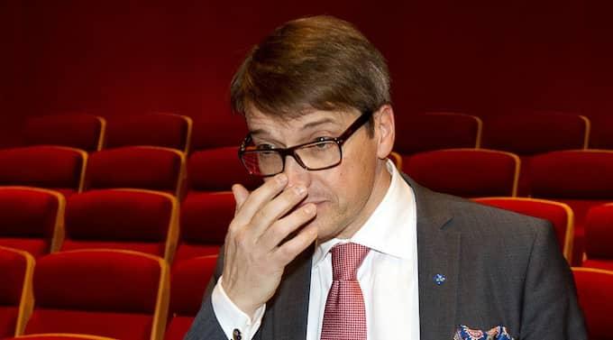 Göran Hägglund kan ändra lagen. Foto: Sven Lindwall