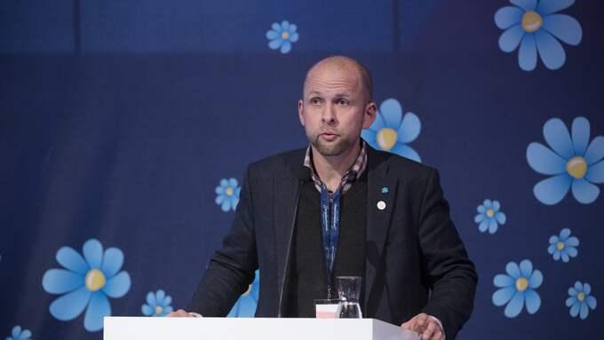 Anders Forsberg dömdes till ett års fängelse för grov förskingring. Foto: SVEN LINDWALL