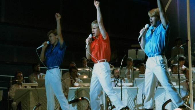 """Richard Herrey var med och vann melodifestivalen år 1984 med låten """"Diggiloo diggiley"""", som han framförde tillsammans med sina bröder. Foto: PETER BERGGREN / PRESSENS BILD"""