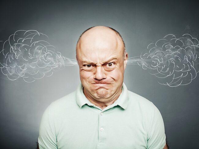 Blir du också så här arg när du tänker att det börja bli dags att städa?!