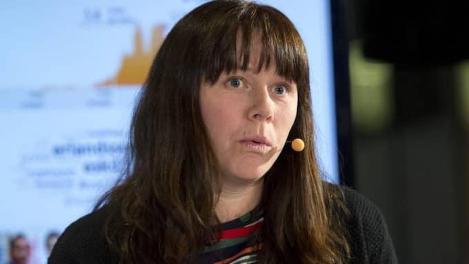 Miljöpartiets Åsa Romson. Foto: Sven Lindwall