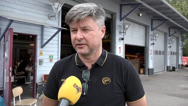 """Bosse hjälper till med branden: """"Vi måste kunna skydda vår skog"""""""