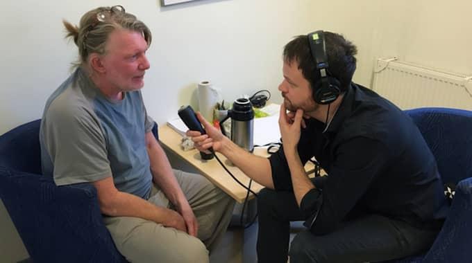 """I podcasten """"Spår"""" berättar ensamseglaren Mauritz Andersson för första gången på band – inifrån Kumla – om kokain, människosmuggling och ensamsegling. Foto: Podcasten Spår / PODCASTEN SPÅR"""