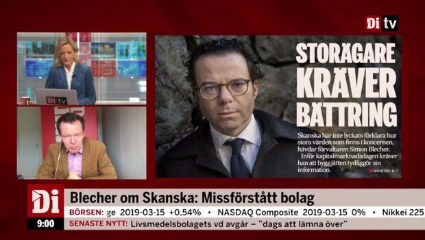 Blecher om Skanska: Missförstått bolag