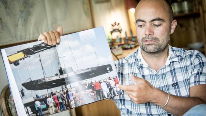 """""""Jag ser honom inte som en våldsam människa"""", säger Thomas Djursing. Foto: CHRISTIAN ÖRNBERG"""