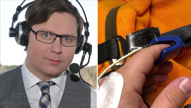 Tv-profilen Patric Skoglund till sjukhus efter hjärtbesvär