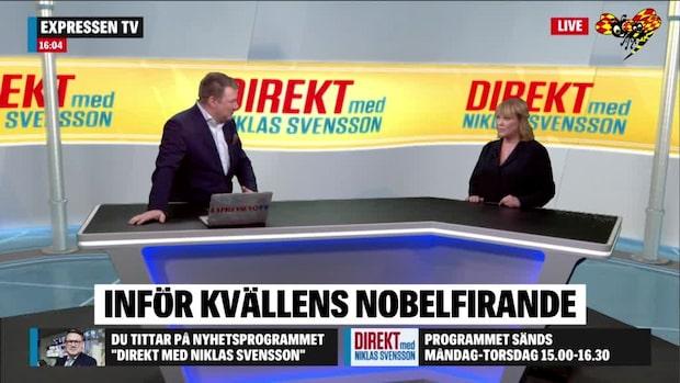 Nobelspecial i Direkt med Niklas Svensson