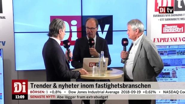 Johnny Kellner och Anders Torell om produktivitet i byggbranschen