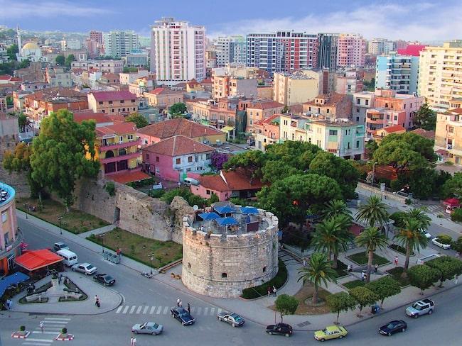 Vackra Durrës – en hamnstad i mellersta Albanien.