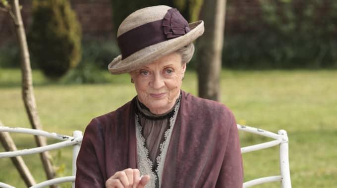 Nu bekräftas den älskade karaktären Violet Crawley spelad av Maggie Smith återvända. Foto: Nick Briggs / AP PBS