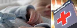 Sofias bebis dog efter vårdmissen