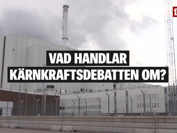 Det handlar den svenska kärnkraftsdebatten om