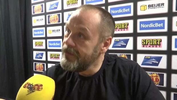 """Målvaktstränaren: """"Får så jävla mycket skit"""""""