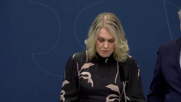 """Socialministern: """"Sverige har åtta karantänshamnar"""""""