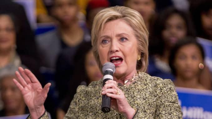 Hillary Clinton leder i Massachusetts med åtta procentenheter i den senaste mätningen. Foto: Gareth Patterson