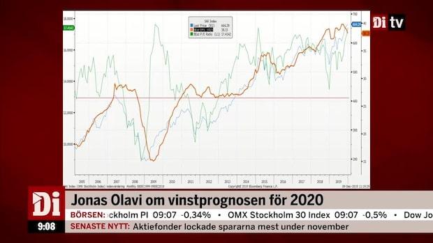 Olavi och Jönsson om vinstprognosen för 2020